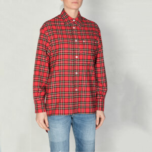 Golden Goose Deluxe Brand Women's Ripa Shirt - Red/Black Check
