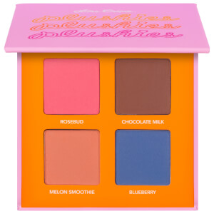 Sombra de ojos de 4 tonos Plushies Sheer Pressed Pigment de Lime Crime - Sweet Blends