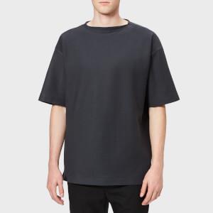 Lemaire Men's Boat Neck T-Shirt - Coal