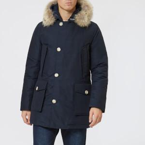 Woolrich Men's Arctic Parka - Melton Blue