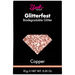 Sleek MakeUP Glitterfest Biodegradable Glitter brokat kosmetyczny – Copper 10 g