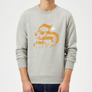 Stay Strong Palm Logo Sweatshirt - Grey