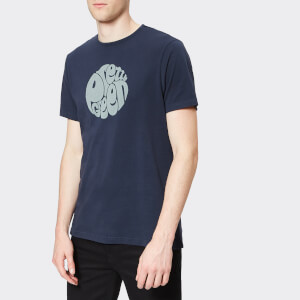 Pretty Green Men's Gillespie Logo T-Shirt - Navy