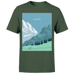 Algau Men's T-Shirt - Forest Green