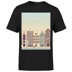 Amsterdam Men's T-Shirt - Black