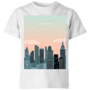 New York Kids' T-Shirt - White
