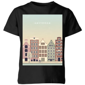 Amsterdam Kids' T-Shirt - Black