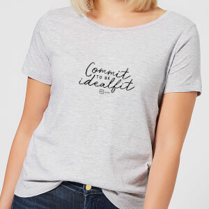 Commit To Be IdealFit Women's T-Shirt - Grey