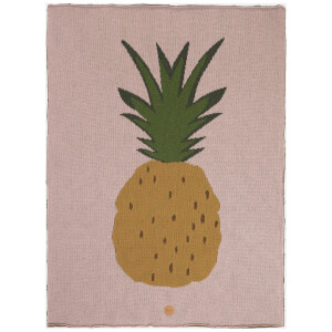Ferm Living Pineapple Blanket