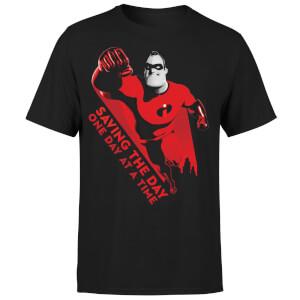 Incredibles 2 Saving The Day Men's T-Shirt - Black