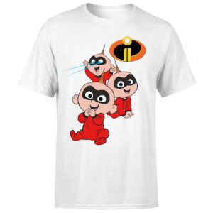 Incredibles 2 Jack Jack Poses Men's T-Shirt - White