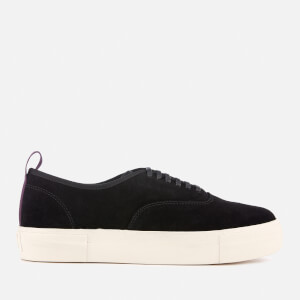 Eytys Mother Suede Low Top Trainers - Black