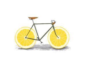 Citrus Lemon Art Print