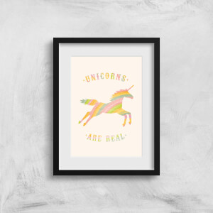 Florent Bodart Unicorns Are Real Art Print