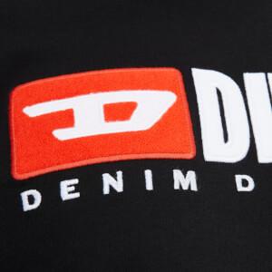 Diesel Men's T-Just Long Sleeve Division T-Shirt - Black: Image 4