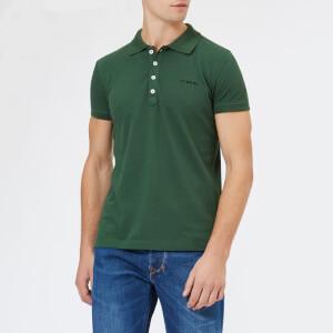 Diesel Men's T-Heal Broken Polo Shirt - Dark Green