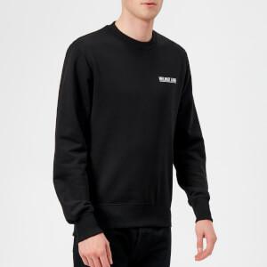 Helmut Lang Men's Corner Dart Crew Sweatshirt - Black