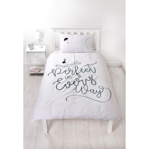 Mary Poppins Perfect Duvet Set