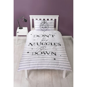 Parure de lit Harry Potter Don't Let The Muggles Get You Down