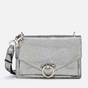 Rebecca Minkoff Women's Metallic Jean Medium Shoulder Bag - Silver