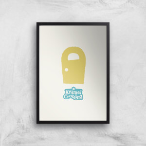 Nintendo Animal Crossing Yellow Door Art Print