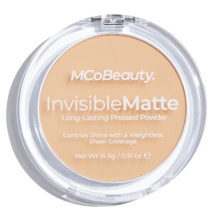 MCoBeauty Invisible Matte Pressed Powder - Natural Beige