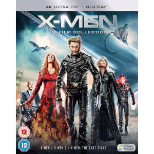 X-Men Trilogy 4K Ultra HD (Includes Blu-Ray)