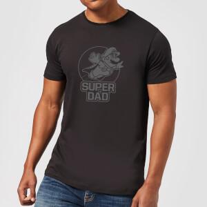 Nintendo Super Dad Herren T-Shirt - Schwarz