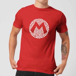 Camiseta Nintendo Super Mario Mario Logo - Hombre - Rojo
