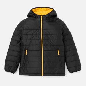 Barbour Boys' International Locking Hooded Jacket - Black