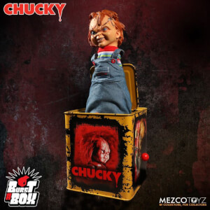 Mezco Scarred Chucky Burst A Box