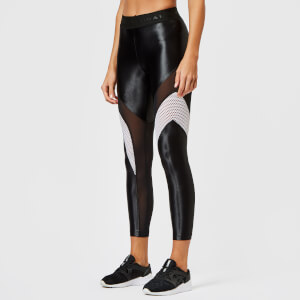 Koral Women's Frame High Rise Leggings - Black/White