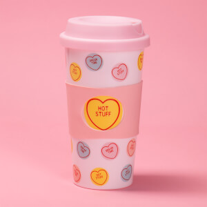 Swizzels Love Heart Reisebecher