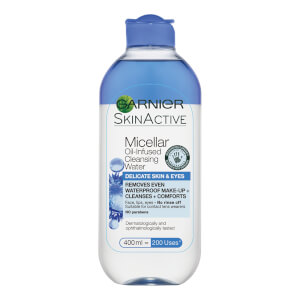 Garnier Micellar Cleansing Water for Delicate Skin and Eyes 400ml