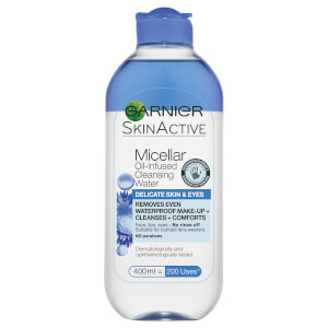 Garnier Micellar Oil-Infused Cleansing Water Delicate Skin and Eyes 400 ml