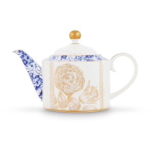 Pip Studio Small Royal Teapot - White