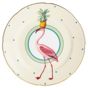 Yvonne Ellen Flamingo Cake Plate - Pink