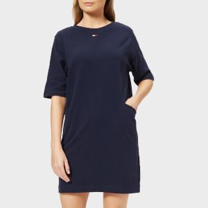 Tommy Hilfiger Women's Heavyweight Knitted Dress - Navy