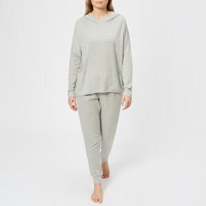 Calvin Klein Women's Long Sleeve Hoody - Grey Heather: Image 3
