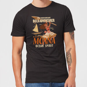 Moana Find Your Own Way Men's T-Shirt - Black
