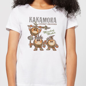 Moana Kakamora Mischief Maker Women's T-Shirt - White