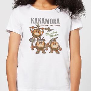 T-Shirt Femme Kakamora Vaiana, la Légende du bout du monde Disney - Blanc