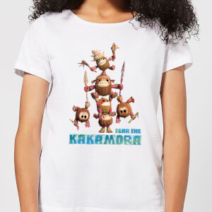 Vaiana (Moana) Fear The Kakamora Damen T-Shirt - Weiß