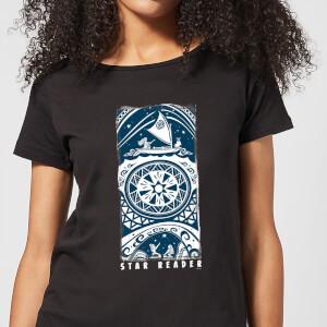 T-Shirt Moana Star Reader - Nero - Donna