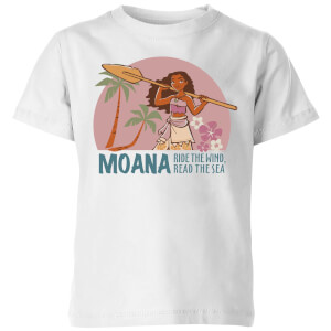 Moana Read The Sea Kids' T-Shirt - White