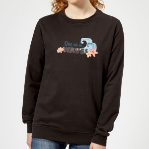 Moana One with The Waves Women's Sweatshirt - Black