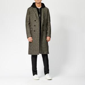 Neil Barrett Men's Double Breasted Overcoat - Multi