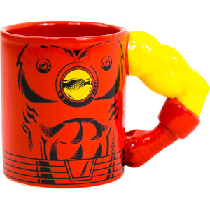 Meta Merch Marvel Iron Man Arm Mug