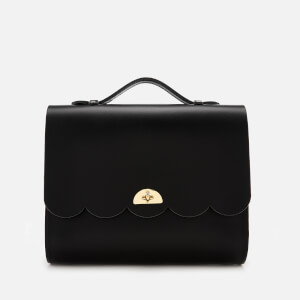 The Cambridge Satchel Company Women's Convertible Cloud Backpack - Black