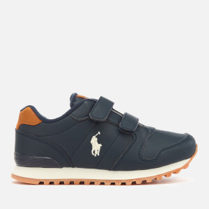 Polo Ralph Lauren Kids' Oryon EZ Runner Style Trainers - Navy